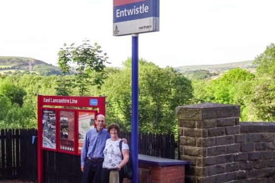 Bob and Charlene at Entwistle